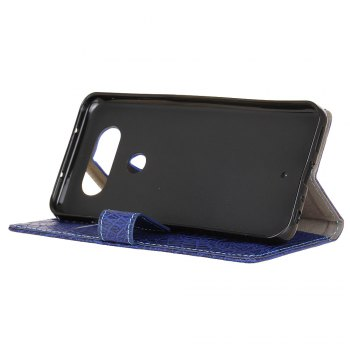 KaZiNe Crocodile Texture Wallet Stand Leather Cover For  LG V20 MINI -  BLUE