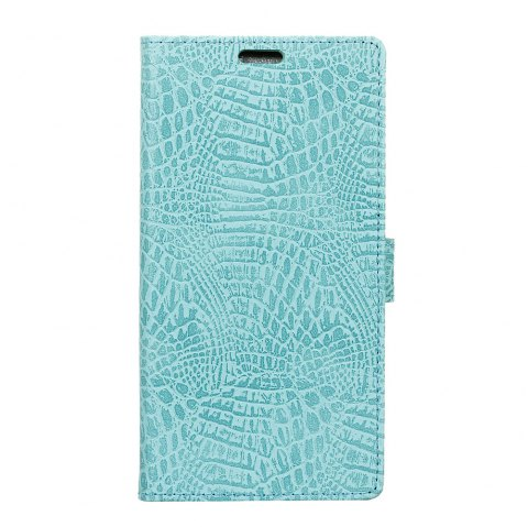 KaZiNe Crocodile Texture Wallet Stand Leather Cover For LG V9 - GREEN