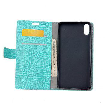 KaZiNe Crocodile Texture Wallet Stand Leather Cover For IPHONE X -  GREEN