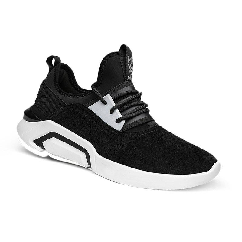 Men's New Sports Leisure Shoes - BLACK 39