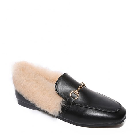 YYO6 Femmes Hiver Chaussures simples Mode Casual Bas Haute Chaussure romaine - RAL1001Beige 37