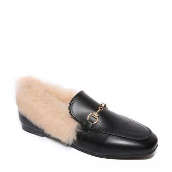 YYO6 Femmes Hiver Chaussures simples Mode Casual Bas Haute Chaussure romaine