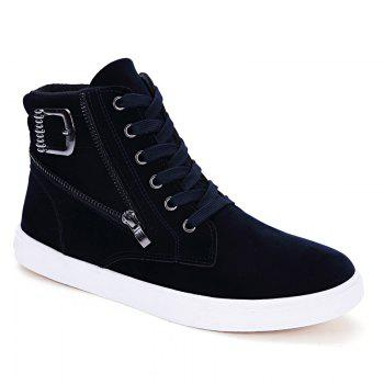 Fashion High Top Casual Shoes with Zip