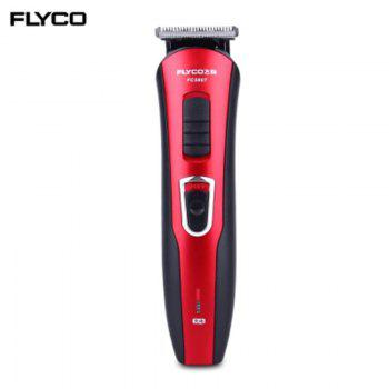 FLYCO FC5807 Charging Plug Electric Hair Clipper AC 100V - 240V -  RED