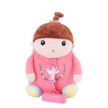 Metoo Plush Doll Hauls Backpack - WATERMELON RED WATERMELON RED