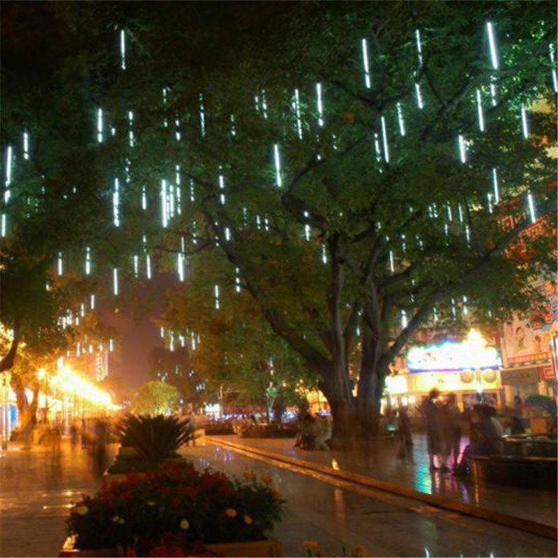 2018 christmas led meteor shower style outdoor decorative lights christmas led meteor shower style outdoor decorative lights white aloadofball Gallery