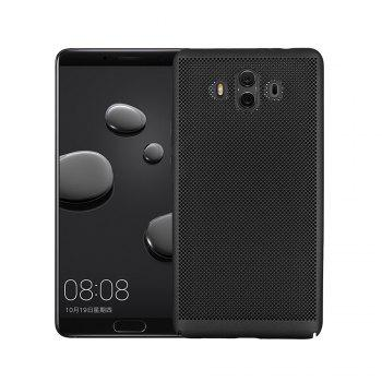 Ultra-thin Micropore Mesh Case for Huawei Mate 10 - BLACK BLACK