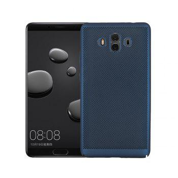 Ultra-thin Micropore Mesh Case for Huawei Mate 10 - BLUE BLUE
