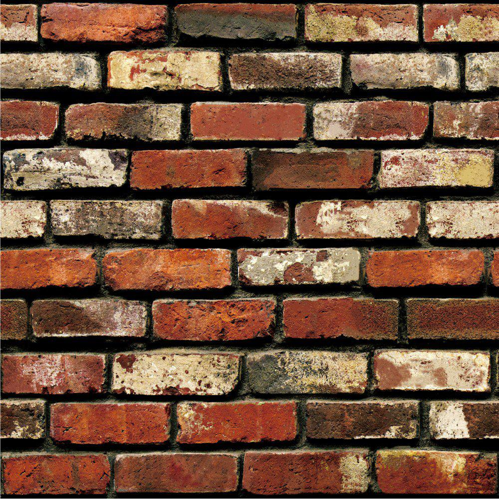 DSU 3D Removable Brick Wall Sticker   COLORMIX 45 X 100CM