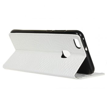 KaZiNe Crocodile Texture Wallet Stand Leather Coverfor Huaweii P10 LITE -  WHITE