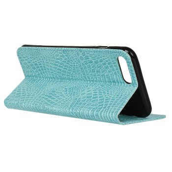 KaZiNe Crocodile Texture Wallet Stand Leather Coverfor iPhone 7 / 8 -  GREEN