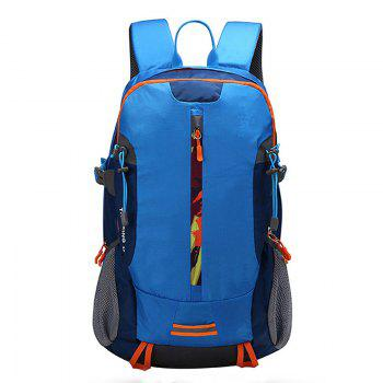 Outdoor Backpack Camping Climbing Hiking Backpack - BLUE BLUE