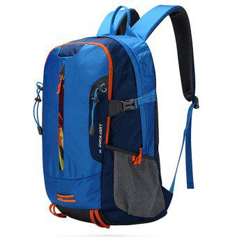 Outdoor Backpack Camping Climbing Hiking Backpack -  BLUE