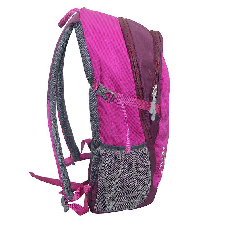 Outdoor Packable Lightweight Travel Hiking Backpack Daypack - ROSE RED