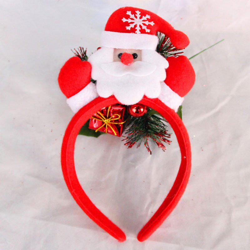 Cute Flashing Christmas Headband LED Headwear for Kids Adults Decoration - WHITE