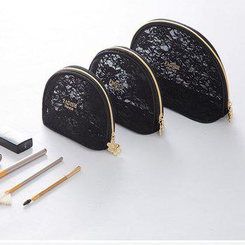 Storage Bags Mini Lace Cute Multipurpose Makeups Storage Bags -  BLACK