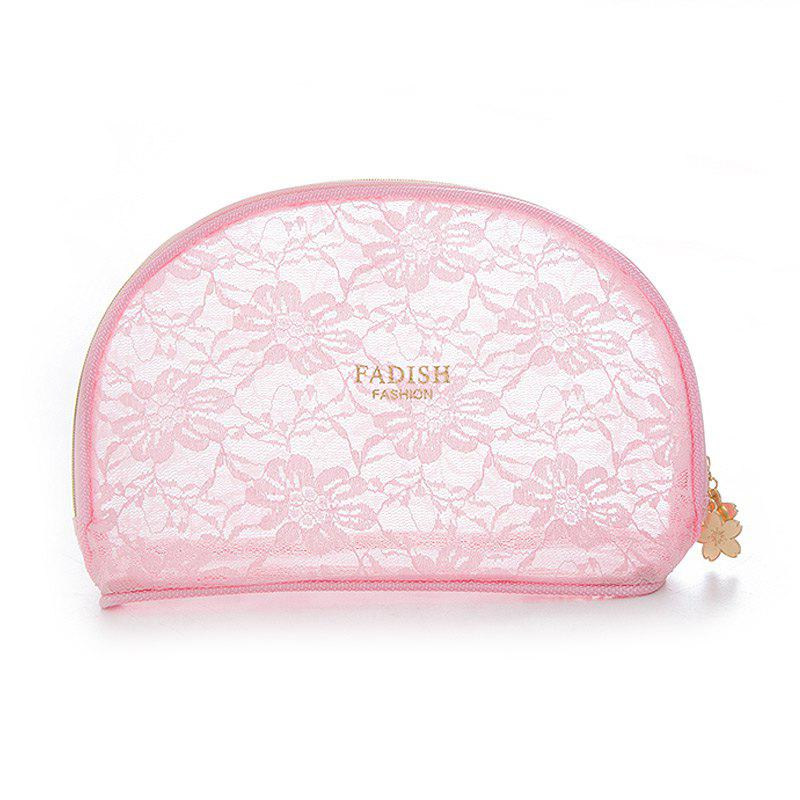 Storage Bags Mini Lace Cute Multipurpose Makeups Storage Bags - PINK