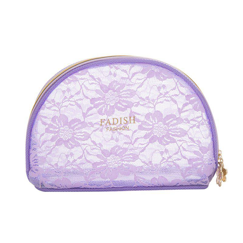 Storage Bags Mini Lace Cute Multipurpose Makeups Storage Bags - PURPLE