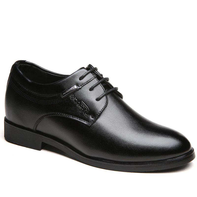 Men Fashion Lace Up Leather Shoes - HEISE 40