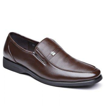 Men Slip on Soft Solid Leather Shoes