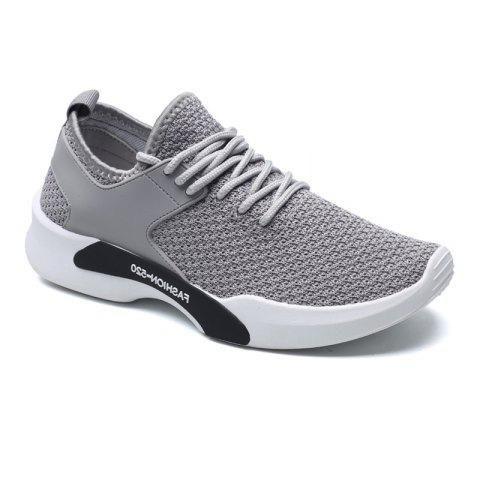 981ce8c7a7b5e 2019 Personality Style Men s Sports Casual Shoes In OYSTER 40 ...
