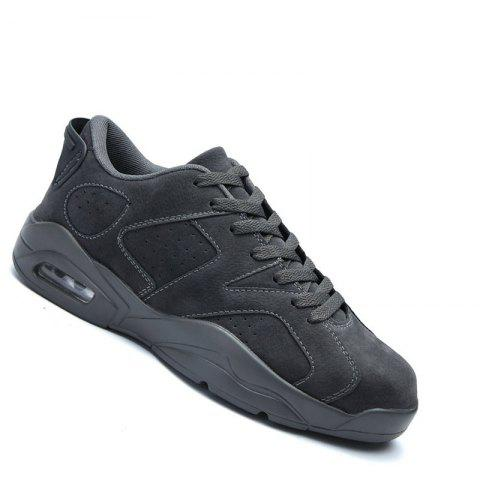 Couple Men Athletic Travel Male Running Anti-Slip Outdoor Sneakers Sports - DEEP GRAY 40