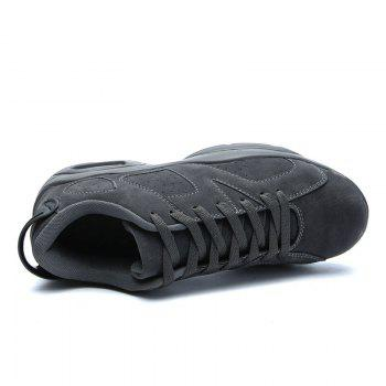 Couple Men Athletic Travel Male Running Anti-Slip Outdoor Sneakers Sports - DEEP GRAY DEEP GRAY