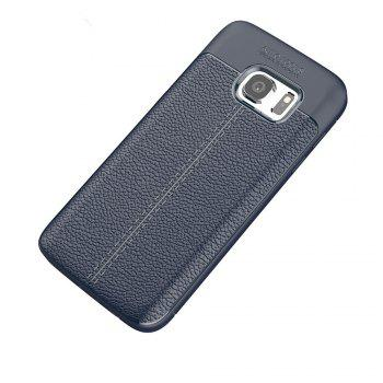 Case for Samsung Galaxy S7 Shockproof Back Cover Solid Color Soft TPU -  DEEP BLUE