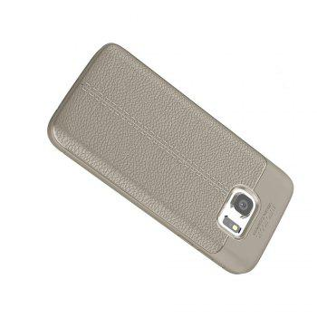 Case for Samsung Galaxy S7 Shockproof Back Cover Solid Color Soft TPU - GRAY