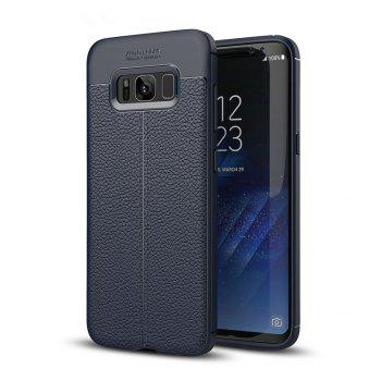 Case for Samsung Galaxy S8 Shockproof Back Cover Solid Color Soft TPU - DEEP BLUE DEEP BLUE