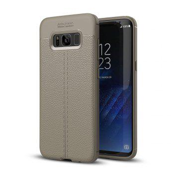 Case for Samsung Galaxy S8 Shockproof Back Cover Solid Color Soft TPU - GRAY GRAY