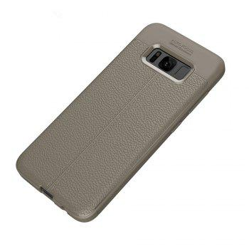Case for Samsung Galaxy S8 Shockproof Back Cover Solid Color Soft TPU -  GRAY