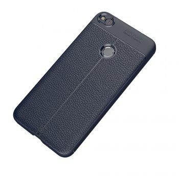 Case for Huawei Honor 8 Lite Shockproof Back Cover Solid Color Soft TPU -  DEEP BLUE
