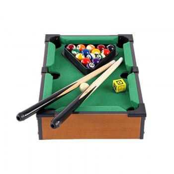 Simulated Billiards for Children Parent-child Interaction Game Set - BROWN HEAD SIZE: 35X23X7.5CM