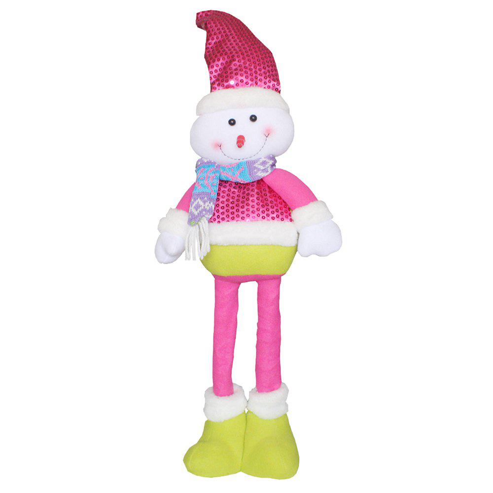 Christmas Telescopic Doll - COLORMIX SNOWMAN STYLE
