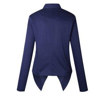 2017 New Autumn and Winter A Stylish Suit Jacket - BLUE S