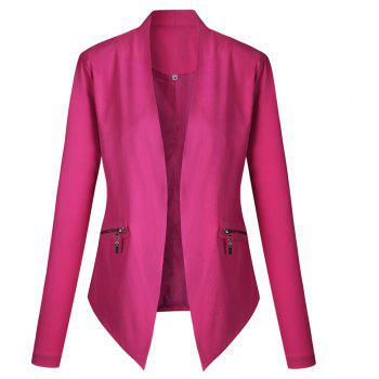2017 New Autumn and Winter A Stylish Suit Jacket - ROSE RED ROSE RED