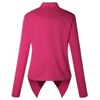 2017 New Autumn and Winter A Stylish Suit Jacket - ROSE RED L