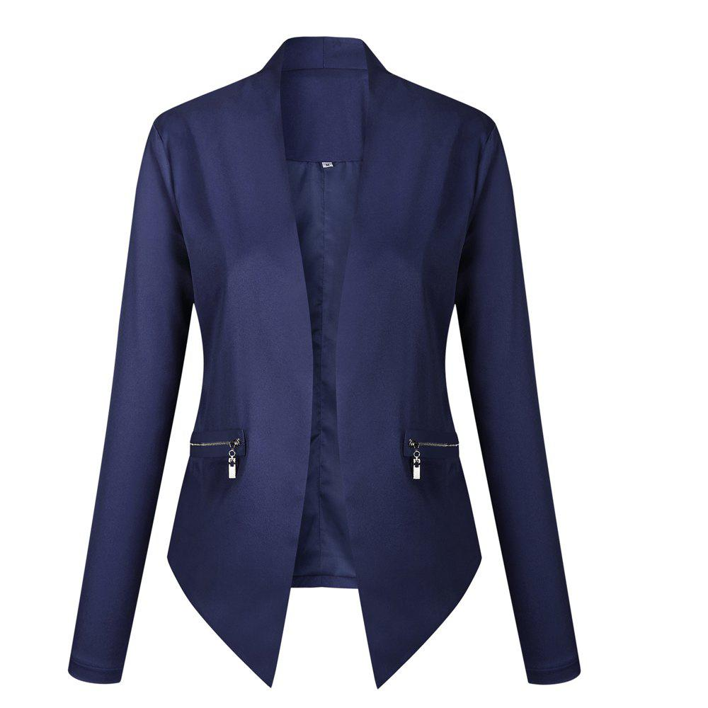 2017 New Autumn and Winter A Stylish Suit Jacket - BLUE M