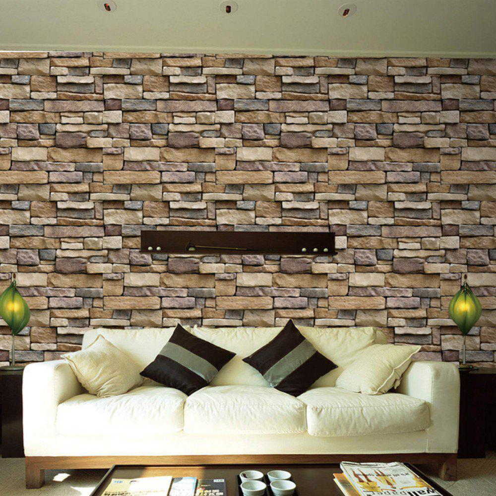 photo gallery dsu 3d diy brick pvc wall stickers art wall decal sa 1007. Black Bedroom Furniture Sets. Home Design Ideas