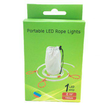 True-Shine Portable RGB LED Camping Light Strip 1.5M DC 5V - RGB