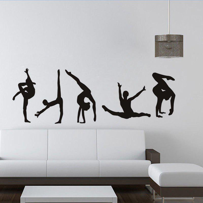 DSU Ballerina Custom Wall Sticker Ballet Dance Vinyl Decal dsu details about happy girls wall sticker vinyl decal home room decor quote