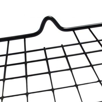 Nonstick Cooling Rack Apply  Cool Cookies Cakes Breads Oven Safe for Cooking Roasting Grilling - BLACK