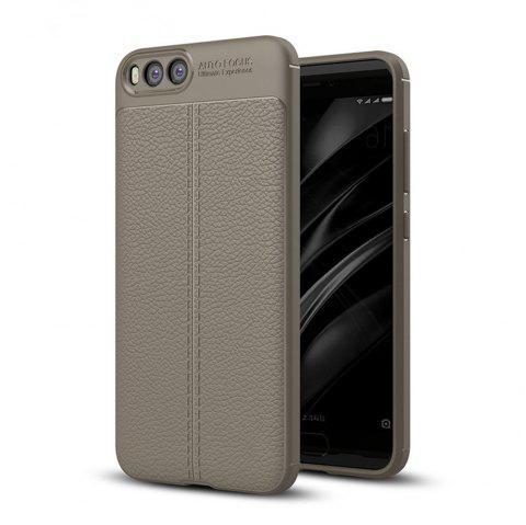 Shockproof Back Cover Solid Color Soft TPU Case for Xiaomi Note 3 - GRAY