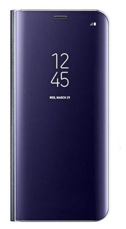 Case For Samsung Galaxy Note8 Edge Luxury New Clear View Smart Flip Leather Phone Cover - DEEP BLUE