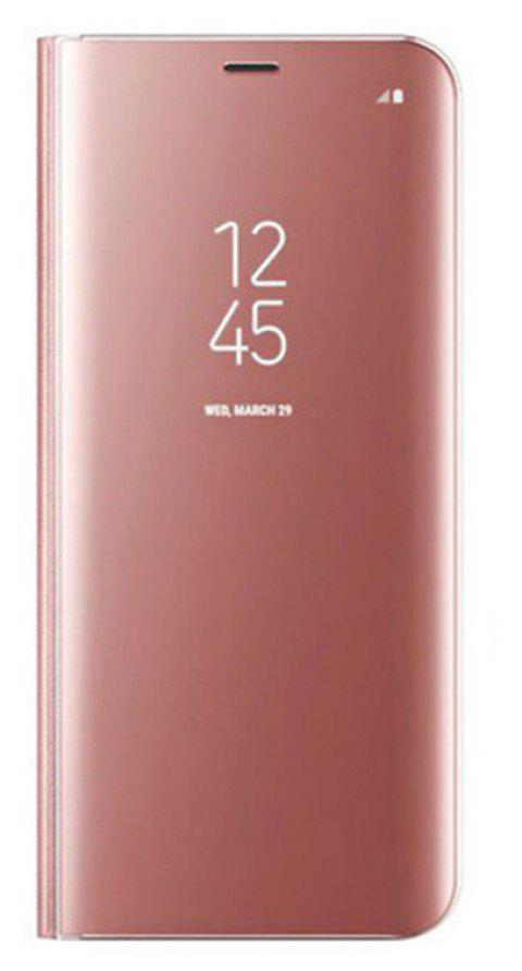 Case For Samsung Galaxy Note8 Edge Luxury New Clear View Smart Flip Leather Phone Cover - ROSE GOLD