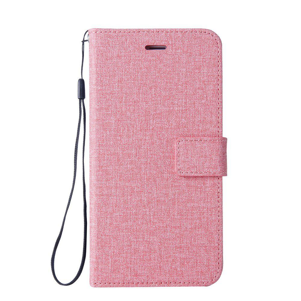 Protective Cover for Cotton Fabric Mobile Phone iPhone X - PINK