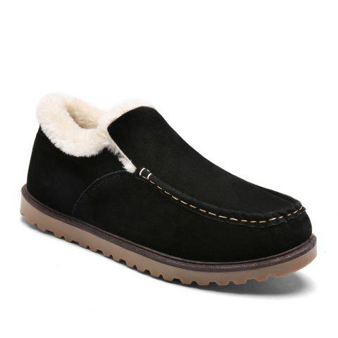 Winter Warm Leisure Cotton-Padded Boots - BLACK 39