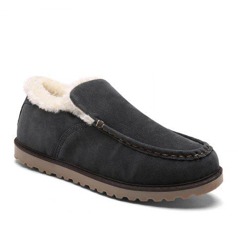 Winter Warm Leisure Cotton-Padded Boots - GRAY 44