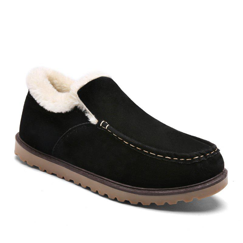 Winter Warm Leisure Cotton-Padded Boots - BLACK 41
